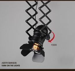 Loft RH American Rural Industrial Retro personality Lighting Ceiling Lamps vintage industrial ceiling lights decorative lamp on Sale