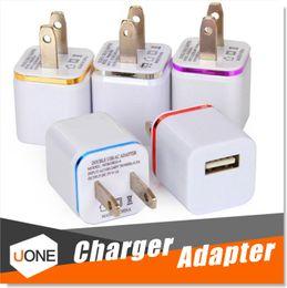 Für iPhone 7 Plus Ladegerät, hohe Qualität 1A / 5V Universal USB Ac Wand Reise Power Home Ladegerät Adapter für Samsung S7 iPhone 6 / 6S Plus im Angebot
