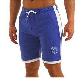 Short Shorts Sexy À Bas Prix Pas Cher-Grossiste-Été coton Golds Gym Shorts Homme Bodybuilding Sexy Formation Brand Fitness Xxl Pockets Short Cheap Boys Blanc Sport Casual