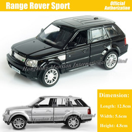 Discount diecast sports cars - 1:36 Scale Diecast Alloy Metal Car Model For Range Rover Sport Collection Model Pull Back Toys Car - Black   Silver   Bl