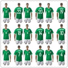 7e67e3da9 ... Mexico National Team Soccer Jersey 10 G.Dos Santos 14 J.Hernandez 7 M  ...