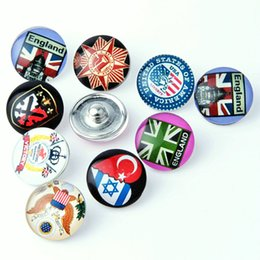 $enCountryForm.capitalKeyWord Australia - 18 mm button Foreign trade The explosion Personality Fashion ginger snap buttons Button Bracelet Factory Direct selling KA 0032 making jewel