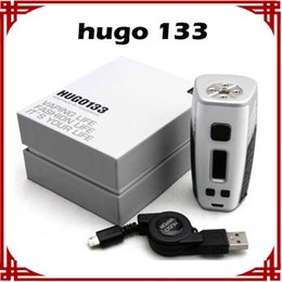 [ sp ] 1 pcs HUGO VAPOR HUGO133 133W Vape Box Mod TPC Mode VS Hcigar VT133 Hugo Vapor Box Mod E-cigarette Mods