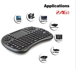 Discount games for android tv box - Mini Wireless Keyboard Rii i8 2.4GHz Air Mouse Keyboard Remote Control Touchpad For Android Box TV 3D Game Tablet Pc