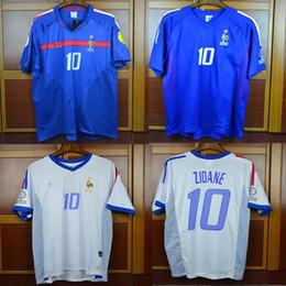 Euro soccEr online shopping - 2004 Euro Retro Soccer Jerseys Zidane Trezeguet Henry World Cup Zidane Classic Vintage Football Shirts