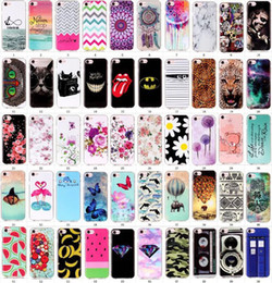 banana phone cover 2018 - 50 designs Beautiful print Elephant flower banana leopard print butterfly Soft TPU Phone cover case for iphone 7 7G ipho