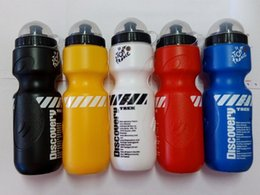 $enCountryForm.capitalKeyWord NZ - New Arrival 650ML Portable Outdoor Bike Bicycle Cycling Camping Hiking Sports Drink Jug Sports PVC Plastic Water Bottle