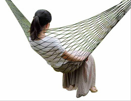 Toy Furniture Wholesale NZ - Kids garden toy swing bed outdoor furniture children hammocks chair promotional cheap portable hammocks bed free shipping