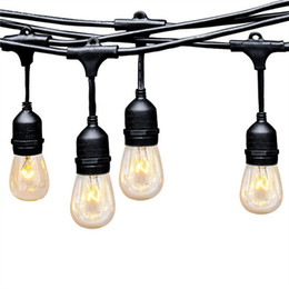 Discount hanging outdoor christmas lights led hanging christmas hanging outdoor christmas lights 2018 ambience pro led commercial grade outdoor strand lights with hanging aloadofball Image collections