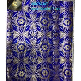 Jacquard Knit Fabric Canada - Wholesale Free Shipping New Good Quality African Fashion Nigeria Sego Gele Headtie For Women Wedding Fabric Headwear HGB760407
