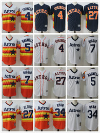free shipping 85d7b 741e4 houston astros 34 nolan ryan navy blue throwback jersey
