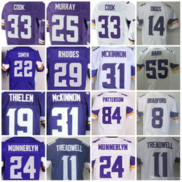 ... Mens elite stitched Minnesota jerseys 55 Anthony Barr 22 Harrison Smith 19  Adam Thielen 14 Stefon Custom ... f4bd89fdf