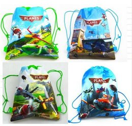 good quality girls school bags 2019 - Hot !Wholesale 96pcs Pixar Planes Fashion backpack popular girls boy schools bags good quality canvas cartoon kids backp