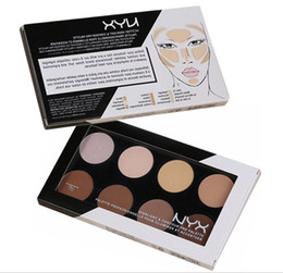 make makeup palette NZ - Cheapest NYX Highlight & Contour Pro Palette Highlighters Powder Shadow Foundation Face Palette Makeup Brand Make Up Cosmetics DHL Free Ship