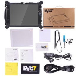 Tablet Controllers Canada - Best quality EVG7 DL46 HDD500GB DDR2GB Diagnostic Controller Tablet PC EVG7 DL46 Professional Car Diagnostic Tool
