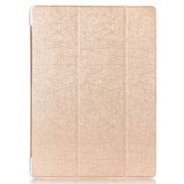 Cubierta de la caja del soporte del cuero de la PU magnética para iPad Pro 12.9 pulgadas Funda con tableta La cubierta frontal Auto Sleep Dormancy