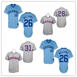 cafa657b ... Grey Flex Base 31 Fergie Jenkins Jersey Cooperstown Baseball Vintage  Mitchell And Ness Chicago Cubs 26 Billy Williams Jerseys ...