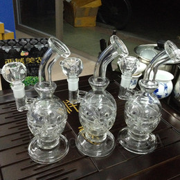glass skull pipe egg 2019 - Bong!! New bowl glass bong recycler oil rig water pipe dabs skull glass bong fab egg thickness glass hookah