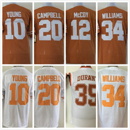 18488192231 CampbellHoustonKoreaNflTexasFootball cheap Texas Longhorns jerseys 10 Vince  YOUNG 12 Colt McCoy 34 Connor Mens ...