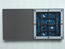 Rgb pixel module online shopping - P6 outdoor module X192mm X32 pixels scan SMD RGB full color p6 led module for outdoor led display screen led video wall