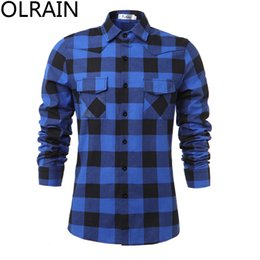 Discount Mens Casual Cotton Button Down Shirts | 2017 Mens Casual ...