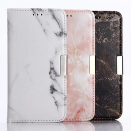 Wholesale iphone8 cases for sale - Group buy Marble Cases For iphoneXS Max Galaxy S9 Plus S8 Plus Luxury Marble bookcover for iphone8 Plus S Plus Case DHL