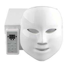 $enCountryForm.capitalKeyWord UK - 7Colors Korean LED Photodynamic Facial Mask Home Use Beauty Equipment Anti-acne Skin Rejuvenation Photodynamic Masks Gold ,white 2 style