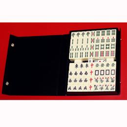 $enCountryForm.capitalKeyWord NZ - Small Travel Mahjong Mini Mahjiang 144Pcs  Set ,Funny Board Game With Box ,Play With Fmily  Party  Friends