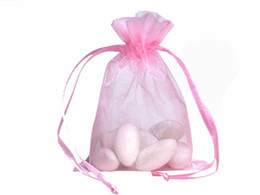 100 stücke Organza Verpackung Taschen Schmuck Beutel Hochzeit Gefälligkeiten Weihnachtsfest Geschenk Tasche 9x12 cm (3,6x4,7 zoll)