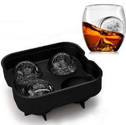 $enCountryForm.capitalKeyWord Canada - Premium 4 x 4.5cm Silicone Ice Ball Maker Mold for Whiskey Ice Balls and Ice Spheres