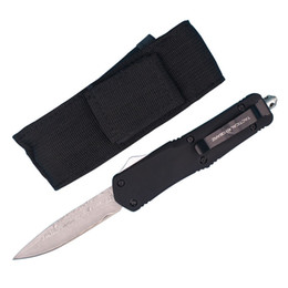 New tactical gear online shopping - 2017 New Allvin Manufacture A07 AUTO Tactical Knife Damascus Steel Drop Point Blade EDC Pocket Knife EDC Survival Gear