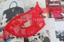 $enCountryForm.capitalKeyWord Australia - Sexy Venice Lace Flower Masks Halloween Masquerade Party Costume Half Face Mask Three Colors 50pcs lot Free Shipping