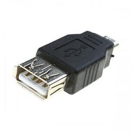 $enCountryForm.capitalKeyWord UK - Wholesale 200pcs lot USB 2.0 A Female to Micro USB B 5 Pin male F M Converter cable Adapter