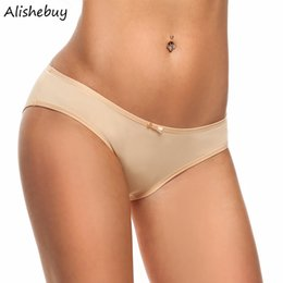 Culottes Sexy De Qualité Pas Cher-Qualité 3Pcs Femmes Hipster Briefs Panties Sous-vêtements Assortiment Ultra-mince Basse-taille Panties Ladies Sexy Seamfree Thong Panties Couleurs AM001543