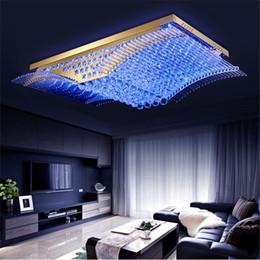 Flush lighting online shopping - Modern Fashion K9 Crystal LED Ceiling Lamp Mirs Wings Chandelier Living Room LED Pendant Lights Lighting Fixture