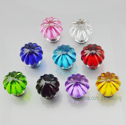 $enCountryForm.capitalKeyWord NZ - 10pcs Multi-color Crystal Diamond Furniture Handles Hardware Drawer Wardrobe Kitchen Cabinets Cupboard Door Dresser Pull Knobs wholesale