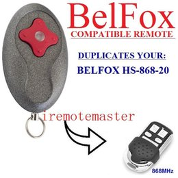 Auto Garage Tools Canada - FOR Garage Door Remote Control Compatible with Belfox HS-868-20 remote control free shipping