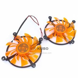 Wholesale thunder ball resale online - New Original Zotac GTX750 TI TSI PA HA the destroyer thunder cards double ball cooling fan