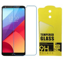 Lg Leon Tempered Glass Protector Australia - 9H 2.5D Tempered glass Film Screen protector For LG V5 V10 V20 V30 U X power2 Stylus3 Leon C40 X max with retail paper package