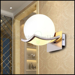 Modern Ball Indoor Wall Lamp Corridor Living Room Lighting Hotel Sconce LLWA082