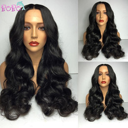 $enCountryForm.capitalKeyWord Canada - Human Hair Brazilian Body Wave Wigs With Baby Hair Full Lace Human Hair Wigs For Black Woman Glueless Lace Front Human Hair Wigs
