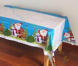$enCountryForm.capitalKeyWord NZ - Christmas party decoration snowman Table cover bar hotel home decoration tablecloth PE Disposable Table clothes