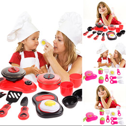 $enCountryForm.capitalKeyWord Australia - One Set Kitchen Cooking Toy Children DIY Beauty Plastic Kitchen Toy Role Play Toy Set Kids Educational Toys Red Pink