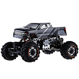 wholesale metal chassis rc car 4wd 124 hbx 2098b 4 wheel drive radio control car 24g metal structure absorption best gift for kids