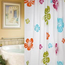 Hot Sale Deep Sea Starfish Waterproof Shower Curtain 1pc Lot Home Decor  Bathroom Waterproof Floral Shower Curtain With Hooks