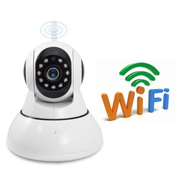 Detection Systems Security Canada - Wholesale 10PCS Home Security CCTV camera IP Wireless camera Pan Tilt P2P Camera Motion detection system IP Cam V380