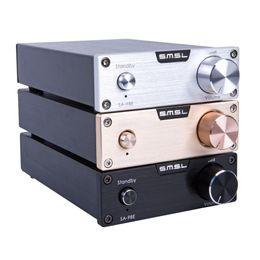 Mini Digital Audio Australia - Freeshipping New Upgraded SMSL SA-98E TDA7498E 160W*2 Mini Stereo Hifi Super Bass Audio Digital Power Amplifier Class d amp with Low Noise