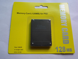 Nueva tarjeta de memoria HC2-10020 para PS2 para Playstation 2 para PS 2 128MB 128M 64MB 8MB 16MB 64M 8M 16M 32MB 32M 256M 256MB con Retail Box en venta