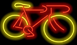Discount neon sign game - New Bicycle Neon Sign Bike Custom Handcrafted Real Glass Tube Art Gift Sport Game Racing Club Advertising Display Neon S