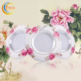 Flood switch online shopping - led down lights surface mounted led downlight recessed corridor lamps High LED w ceiling lights clamp light ceramicled flood lights